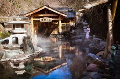The surprising list of things that make Japan an amazing country:   14. ONSEN ー Onsen (Japanese hot spring baths) are one of Japan's greatest passions.