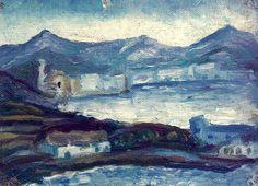 Cadaqués 1917, by Salvador Dalí i Domènech