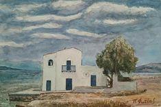 Παναγιώτης Φωτέας Το σπίτι του Σικελιανού στη Σαλαμίνα