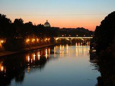 Il Tevere, Ponte Sisto e San Pietro