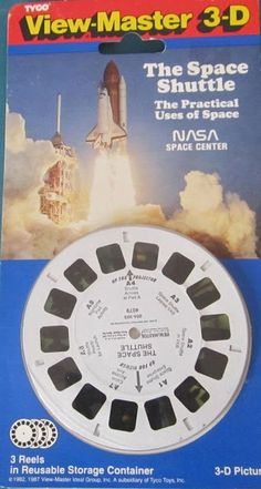 John Kenneth Muir's Reflections on Cult Movies and Classic TV: Space Shuttle GAF Viewmaster