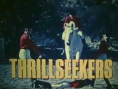 """Chuck Connors introduces the Foxfield Drill Team on the TV Show """"Thrillseekers"""" from Chuck Connors, Horse Videos, Drill, Pony, Tv Shows, Youtube, Movie Posters, Pony Horse, Hole Punch"""