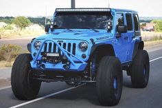 Save by Hermie Blue Jeep Wrangler, Jeep Tj, Jeep Rubicon, Jeep Wrangler Unlimited, Jeep Wranglers, Jeep Cars, Jeep Truck, Chevy Trucks, Jeep Photos