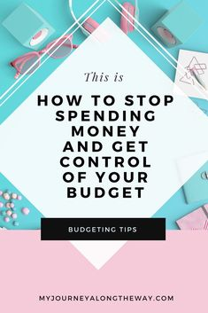 Do you need help with your out of control spending? Get your budget under control again with these fantastic tips to control your spending habits #personalfinance #budgeting #money #budget