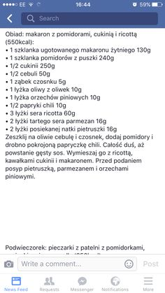 Snack Recipes, Healthy Recipes, Snacks, Polish Recipes, Health Diet, Recipies, Food And Drink, Lunch, Cooking