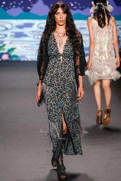 Anna Sui Spring 2014 Ready-to-Wear Fashion Show - Jamie Bochert