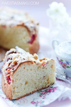 Placek Drożdżowy z Kruszonką, Poland Crumble Recipe, Fruit Pie, Loaf Cake, Strawberry Cakes, Polish Recipes, Fruit In Season, Sweet Bread, Cakes And More, Vanilla Cake
