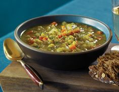 Lentil Soup is full of fiber and flavor but only requires a handful of ingredients.