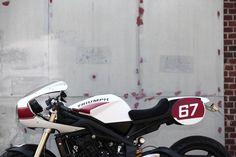 TRIUMPH STREET TRIPLE GOES CLASSIC-RACER - RocketGarage - Cafe Racer Magazine