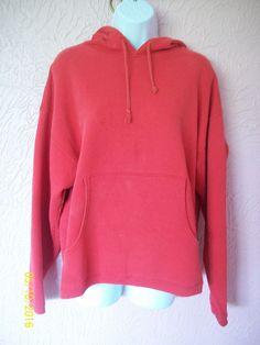 Vintage Hoodie Marlboro Country Store Red Size Medium Front Pockets USA #MarlboroCountryStore