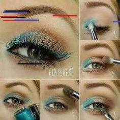 Eye Makeup Tips.Smokey Eye Makeup Tips - For a Catchy and Impressive Look Hazel Eye Makeup, Applying Eye Makeup, Eye Makeup Steps, Skin Makeup, Makeup Tips, Makeup Ideas, Makeup Contouring, Makeup Hacks, Makeup Art