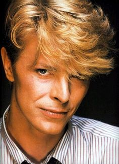 David Bowie.  Guys I can't believe that he died, it's ridiculous and beyond belief. Rip precious Bowie. You'll be missed.