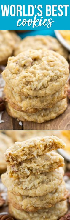These really are the WORLD'S BEST COOKIES! I couldn't believe how good they were when I tried them! via @crazyforcrust