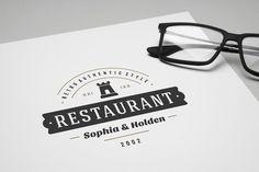 80 Restaurant Logotypes and Badges - Logos