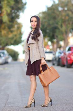 StylishPetite.com   BB Dakota Renley Lace Fit and Flare Dress