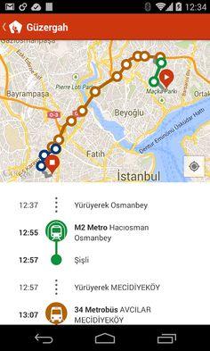 TRAFI Türkiye metro bus ferry