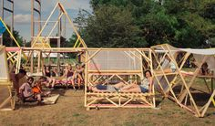 Картинки по запросу open air festival wood structures landscape
