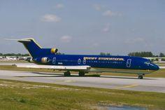 Braniff International B727-200 N8856E Fort-Lauderdale 1992