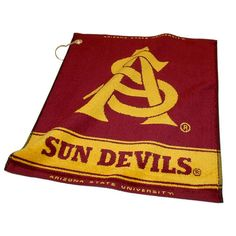 Arizona State Sun Devils NCAA Woven Golf Towel