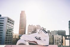 Supreme x Air Jordan   Selectd.Co  Check the VIDEO interview by Emily Oberg at Kids line at Supreme NY Store.  http://www.selectd.co/news/emily-oberg-interview-at-the-supreme-x-air-jordan-5-drop