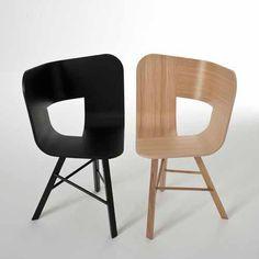 Sedia Tria wwod- design Lorenz - Kaz- Colé