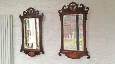 Antique Mahogany Mirror George III