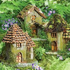 Fairy House Fairy Garden Gardener S Supply Fairy Homes Fairy Garden Houses, Gnome Garden, Garden Cottage, Fairies For Fairy Garden, Diy Fairy House, Garden Homes, Fairy Tree Houses, Fairy Gardening, Herb Garden