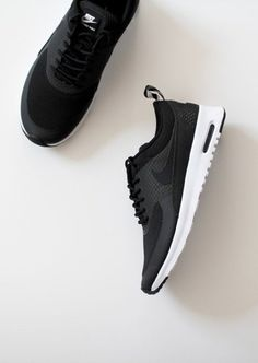 Nike air max in black, we love it! Another item on the wishlist.. #Fitgirlcode- I want black ones so I can match everything.