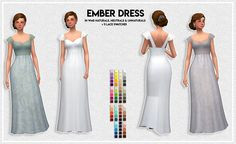 The first part of my Simblreen gifts :) While this doesn't have any spooky patterns to it, I still wanted to release it with these. It comes in all 75 of WildlyMiniatureSandwich's sandwich palette. The Sims 4 Pc, Sims 4 Mm Cc, Sims 4 Cas, Sims Stories, Maxis, Sims 4 Dresses, Best Sims, Sims 4 Cc Packs, Sims 4 Clothing