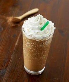 Protein Powder Chocolate Frappucino Recipe (20g protein) | via @SparkPeople