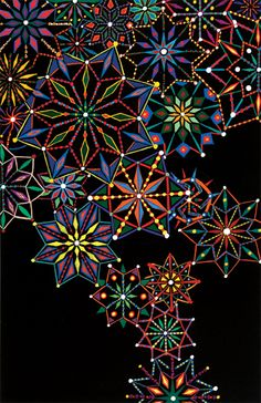 FRED TOMASELLI- amazing pills, collages, acrylics- all put together in resin.