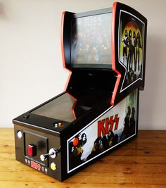 I completed my project! I posted a pic and a link to my project thread Arcade Cabinet Plans, Mini Arcade Machine, Arcade Bartop, Video Game Decor, Retro Video Games, Retro Games, Flipper, Pi Projects, Retro Arcade