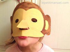 Le singe en masque @ Le Petit Manuel nouvel an chinois 2016