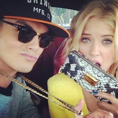 """The original pinner: """"My favorite couple on PLL... Haleb""""  Me: It's my favourite too! <3"""