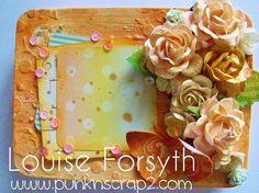 Louise Forsyth - Punknscrap - Mixed Media Gift Tins