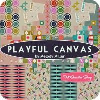 Playful Canvas Yardage<BR>Melody Miller for Cotton   Steel Fabrics
