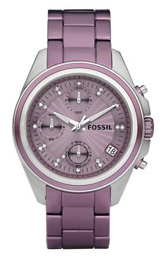 A Men's Watch Tweaked to Grace a Women's Wrist – Fossil Decker Boyfriend Aluminum Watch
