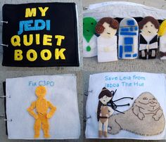 Star Wars Quiet Book -- I know more grown ups than kids that would like this.