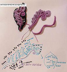 (20) Одноклассники Irish Crochet Tutorial, Crochet Video, Crochet Diagram, Freeform Crochet, Crochet Art, Crochet Leaf Patterns, Crochet Leaves, Lace Patterns, Crochet Designs