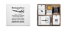 Merchant & Mills Sewing Notions Set