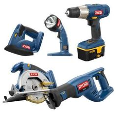 Home Depot Cyber Monday: Ryobi 18-Volt 5 Hand Tools Bundle Only $119 (Normally $250)