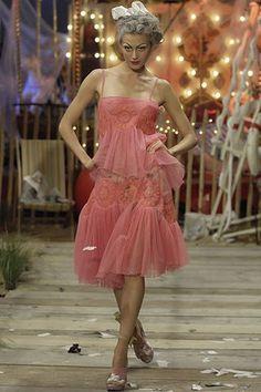 John Galliano Spring 2008 Ready-to-Wear Fashion Show - Yana Karpova
