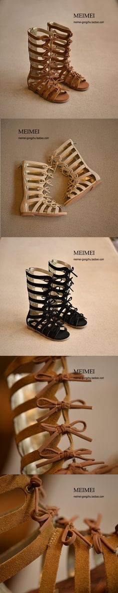 2016 summer boots High-top fashion Roman girls sandals kids gladiator sandals toddler baby sandals girls high quality shoes