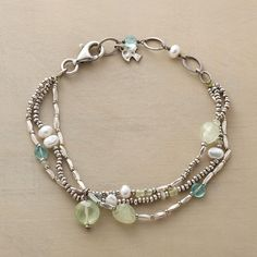 Shop Gemstone Bracelets at Sundance. You'll love the saturated hues and elegant designs in our gemstone bracelets. Beaded Jewelry, Jewelry Bracelets, Silver Jewelry, Silver Rings, Necklaces, Ankle Bracelets, Silver Accessories, Handmade Bracelets, Handmade Jewelry