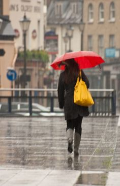 .love walking in the rain
