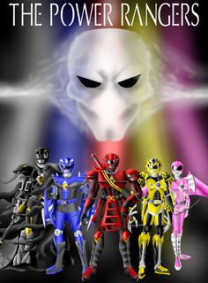 The Power Rangers Re-Imagined