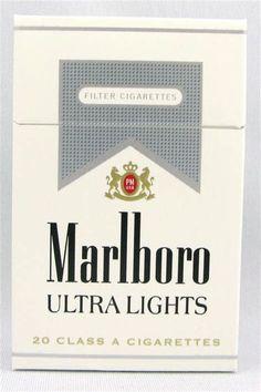 19 Luxury Marlboro Silver Nicotine Content