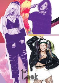 SPICA ★ in 1st Look Magazine with Lee Hyori