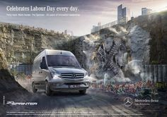 CLAAS CROPP for Mercedes Benz | Claas Cropp Creative Productions | presented by GoSee ©