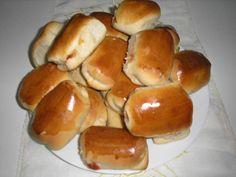 Pães - Pãezinhos de Salsicha - Bem Feitinho
